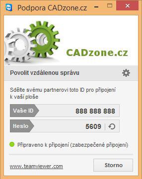 Klientská aplikávia TeamViewer