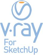 V-Ray pre SketchUp prenájom na 1 mesiac